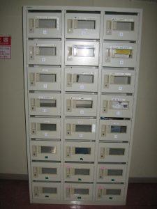 メールボックスの写真