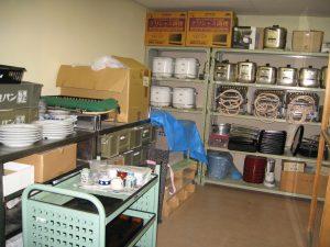 料理準備室の写真