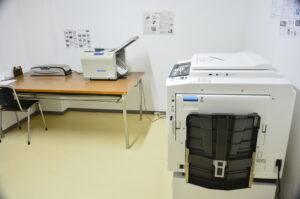 印刷室の写真1